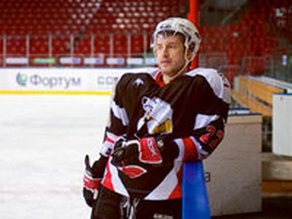 Хоккеист «Трактора» стал актером