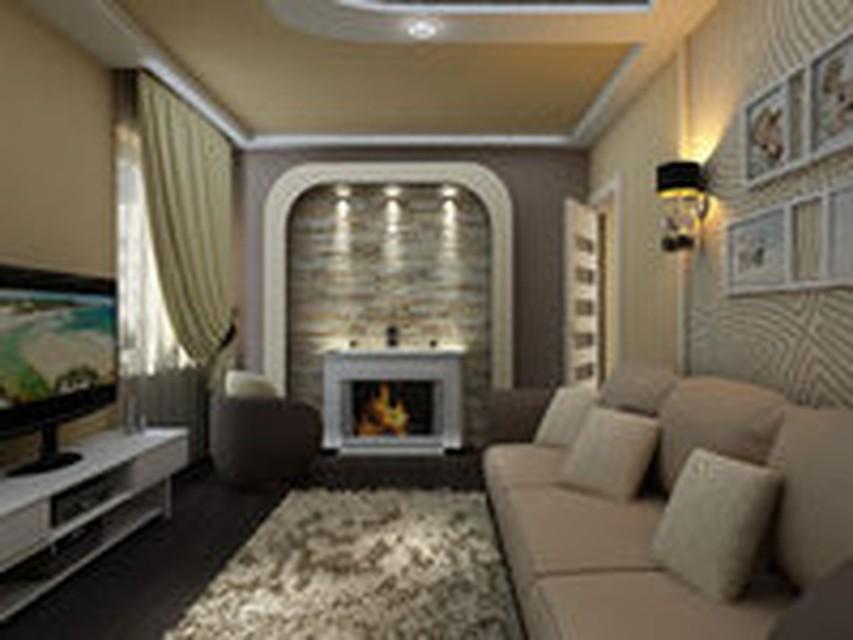 Дизайн гостиных комнат обычных квартир