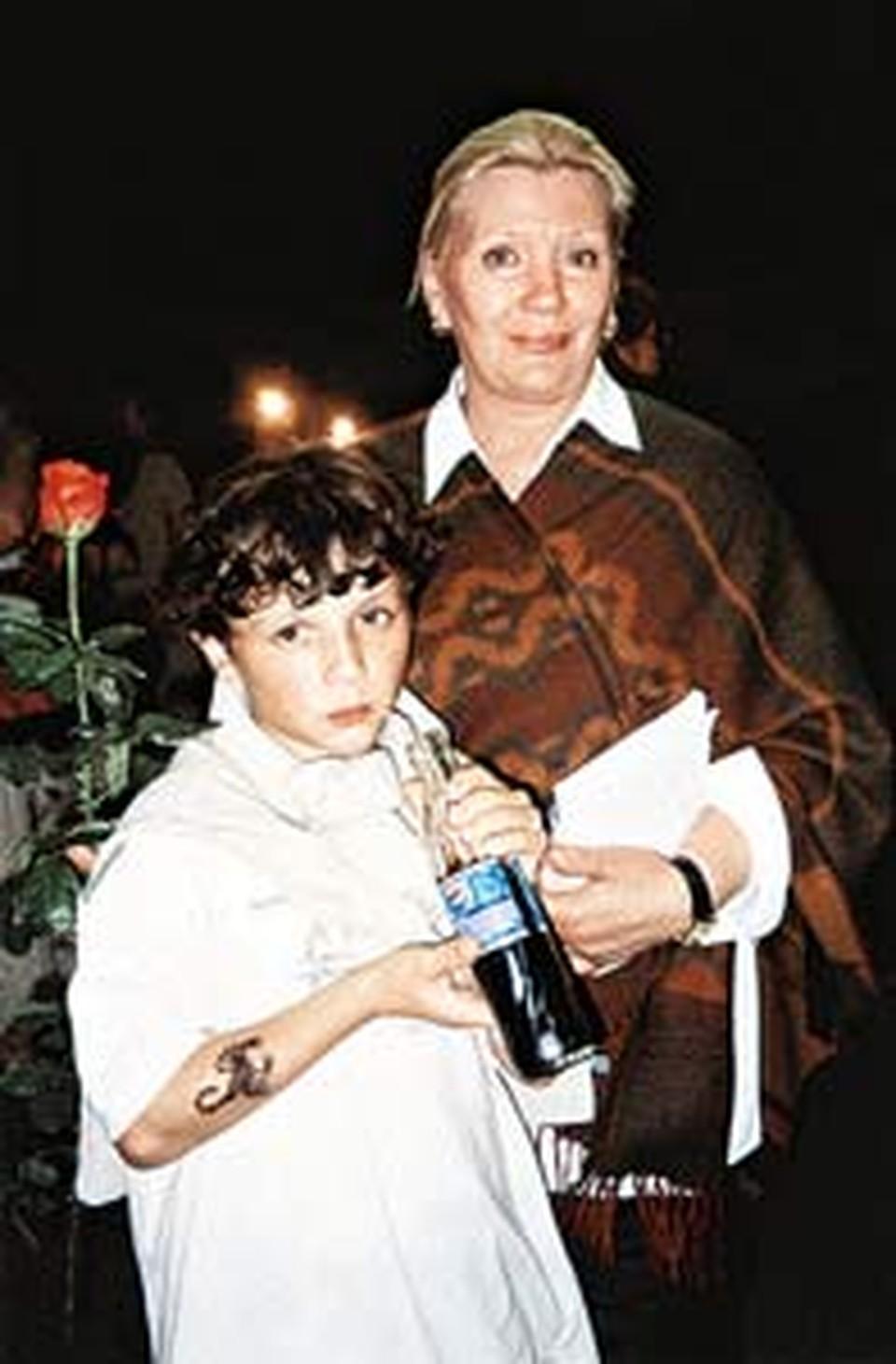 Галина Александровна души не чает во внуке Филиппе.