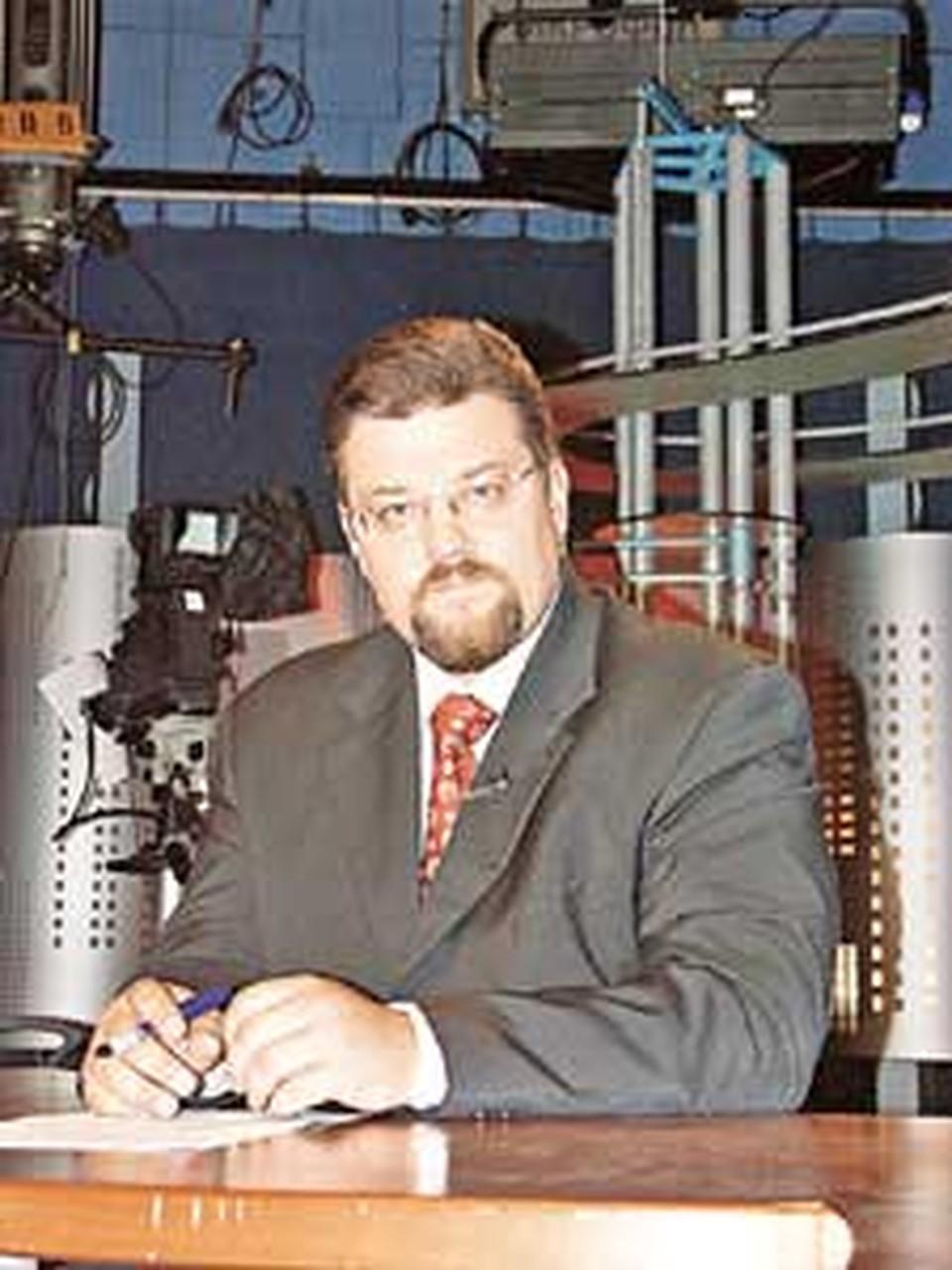Ведущий «Главной темы» Андрей Добров называет себя абсолютно счастливым журналистом.