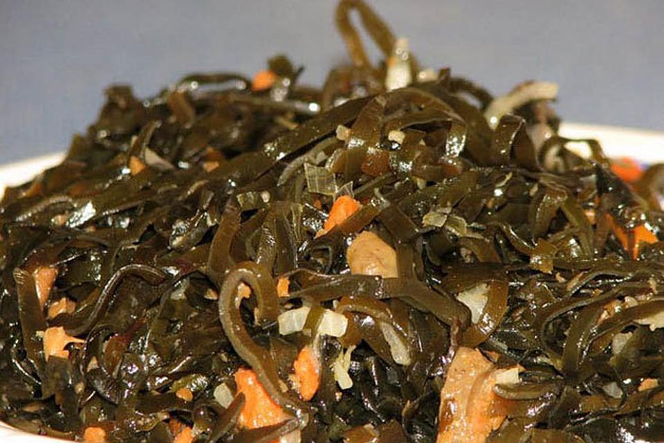 как морская капуста влияет на давление