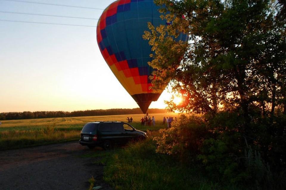 Воздушный шар в Подольхах приземлился в штатном режиме.