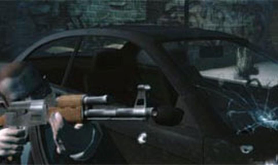 Кадр из компьютерной игры GTA 4