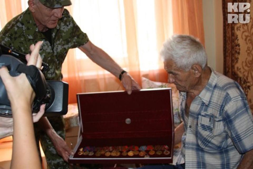 Награды ветерану вернули в целости и сохранности