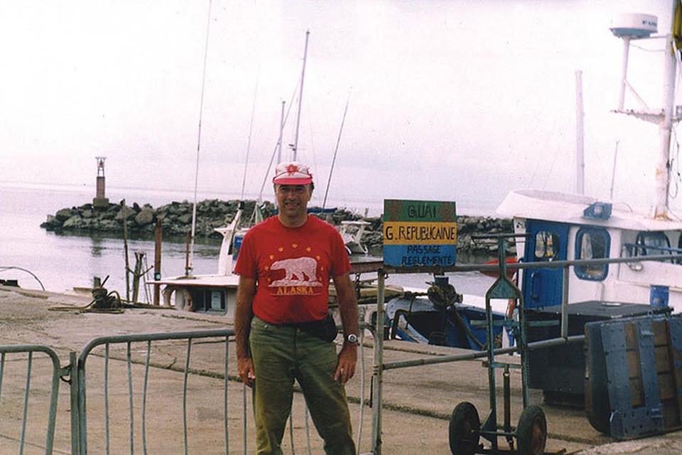 Libreville sea-port (Gabon) – этот этап Владимир Лысенко начал на Западе Африки – в порту Либревиль.