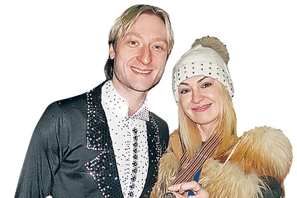 Евгений Плющенко и Яна Рудковская строят смелые семейные планы.