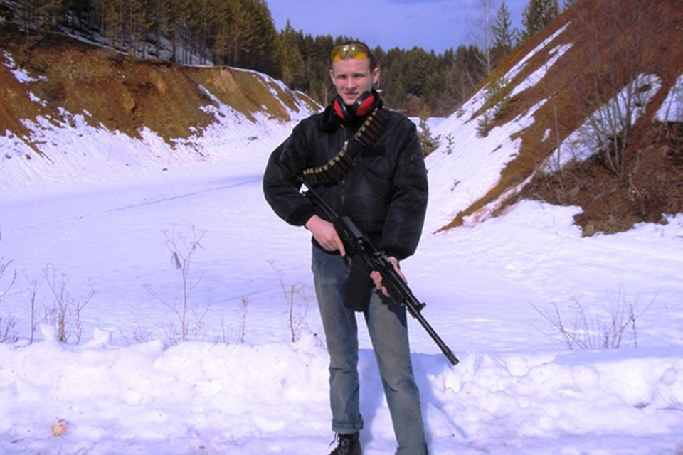 Василий Федорович даже на отдыхе не расставался с оружием
