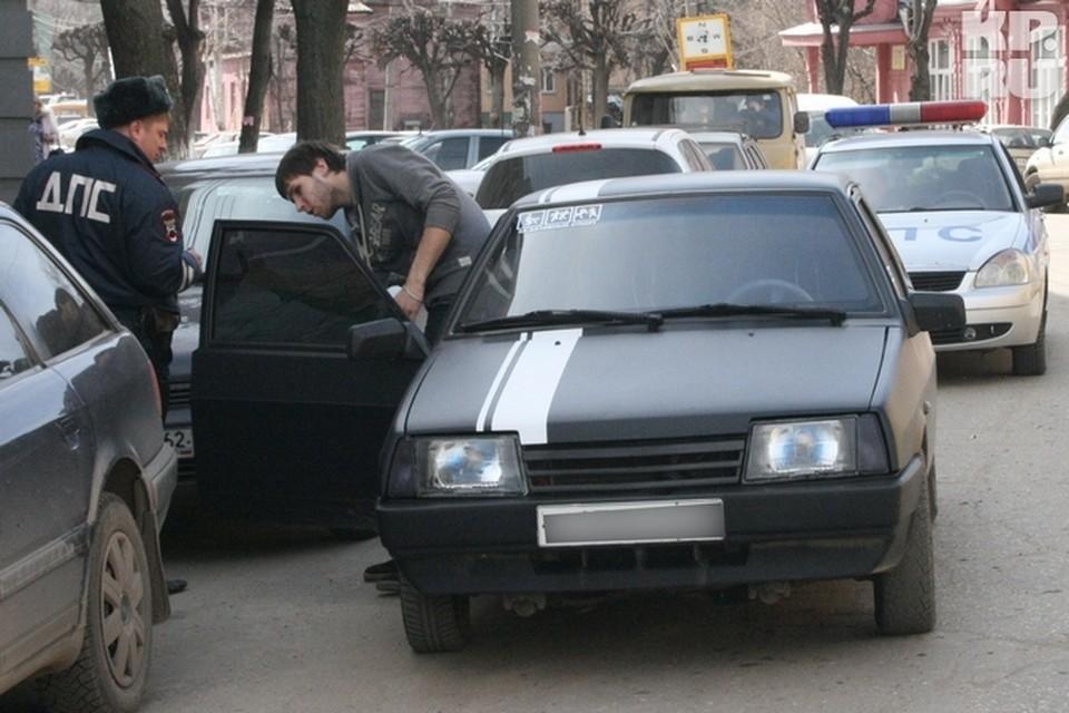 В Рязани не прекращается борьба с неправильной тонировкой.
