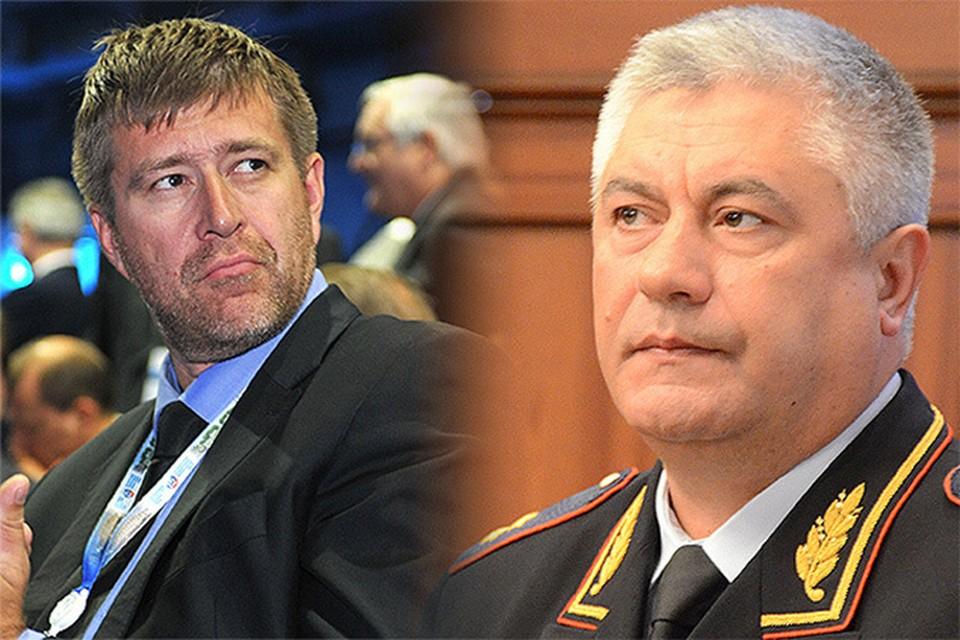 Министр юстиции Александр Коновалов и глава МВД Владимир Колокольцев заступились за своих подчиненных, фигурирующих в американском антикоррупционном списке