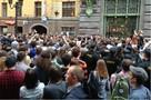 Митинг в защиту Алексея Навального в Петербурге. Как это было