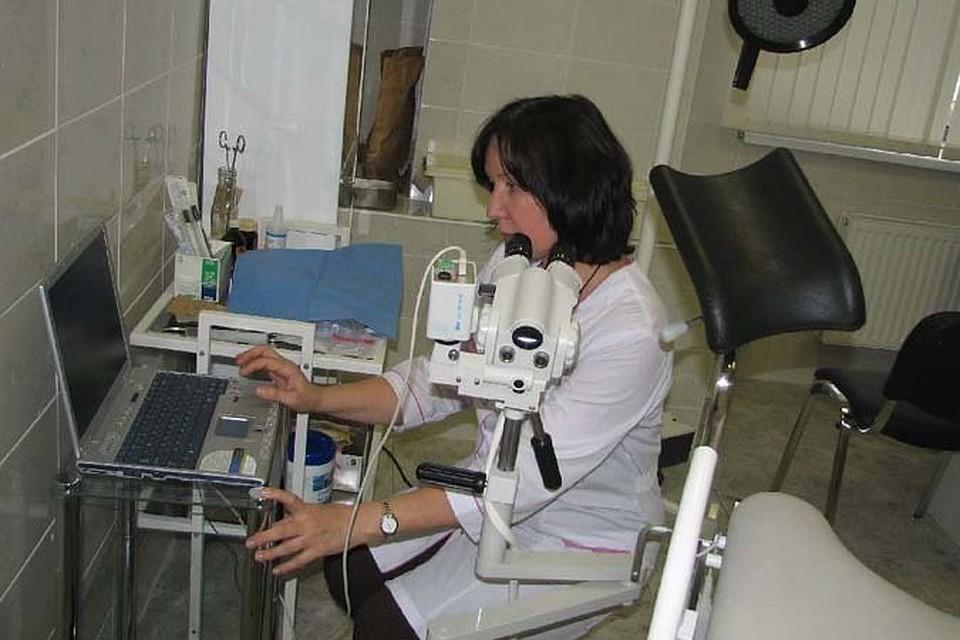 смотреть фото онлайн осмотр гинеколога