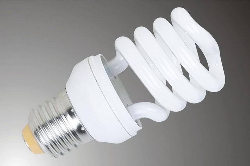 Хранение энергосберегающих ламп