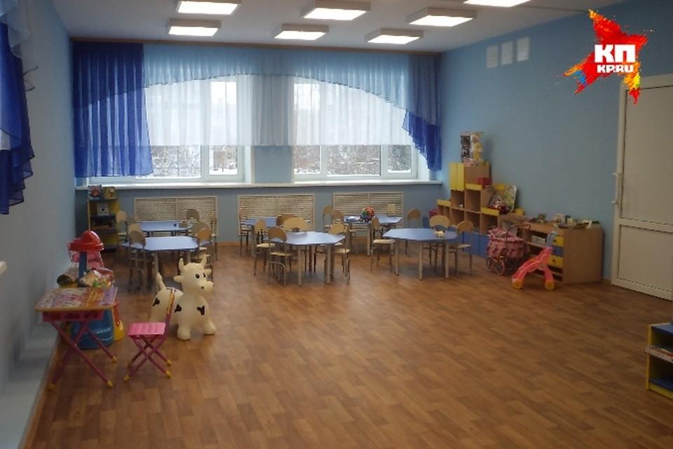 Новый детский сад открылся в Молочном