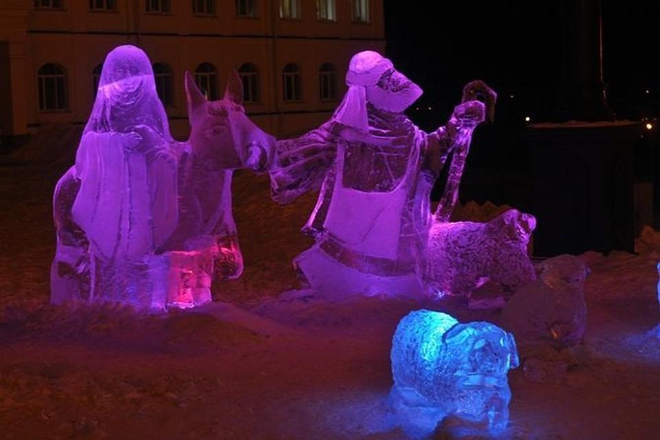 Рождественский фестиваль льда