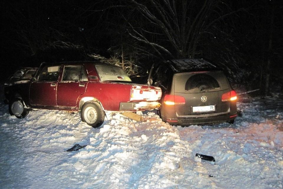 Четыре человека пострадали в ДТП, которое устроил пьяный вологжанин