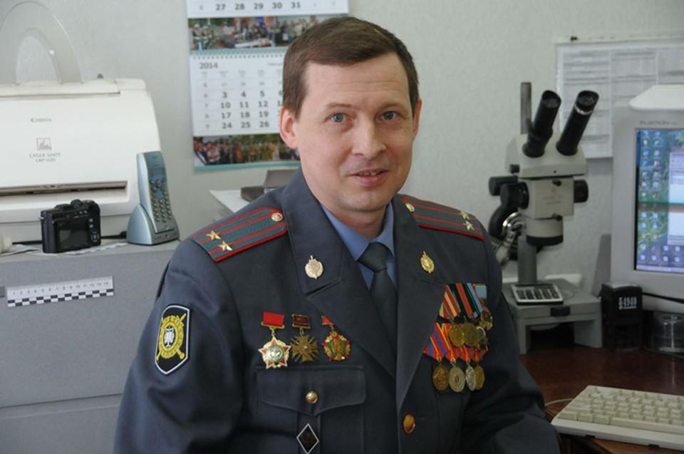 Подполковник полиции Александр Власов
