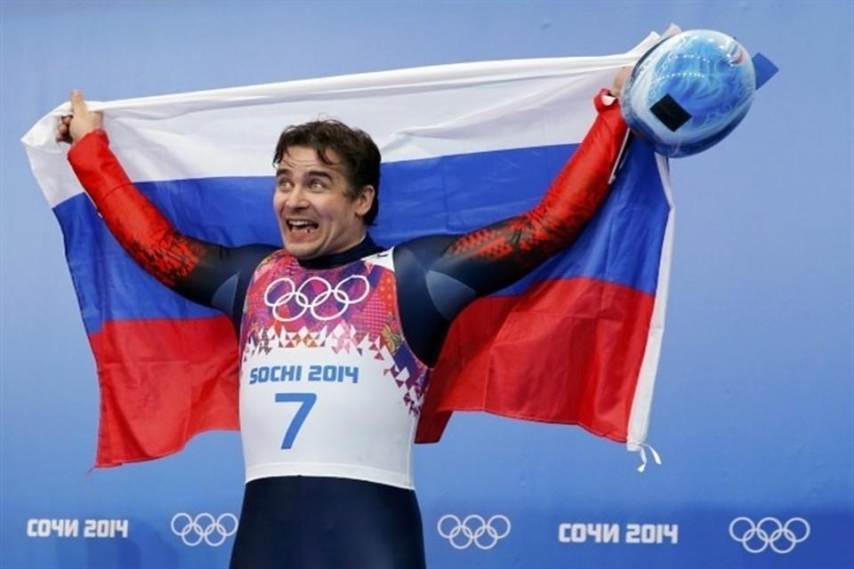Саночник Альберт Демченко принес России четвертую медаль!