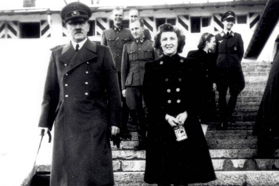 Помощница фотографа Ева Браун безумно влюбилась в Гитлера, который был на 23 года старше ее, в 17-летнем возрасте