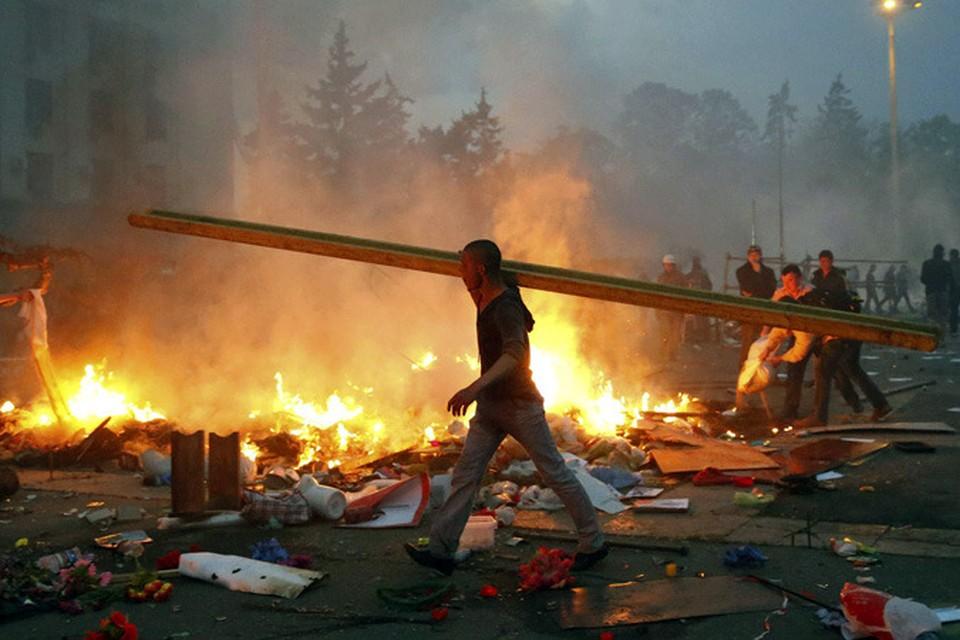 Бандеровская Украина уже воюет против России и русских