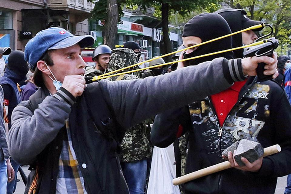 Подонки, устроившие в Одессе кровавое 2 мая, особо и не прятались