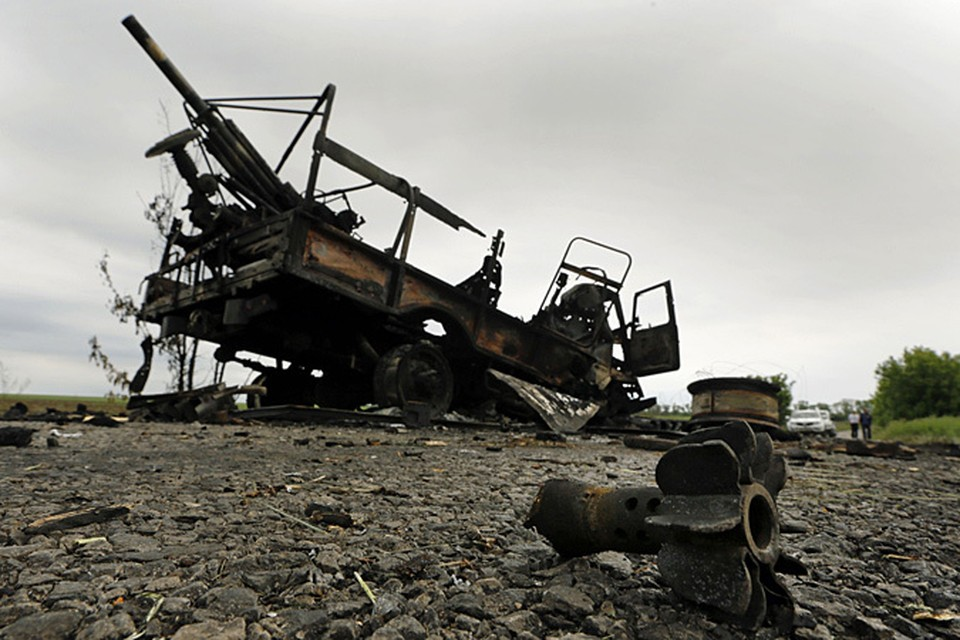 Украинские войска, брошенные на подавление восстания в Донбассе, несут сильные потери