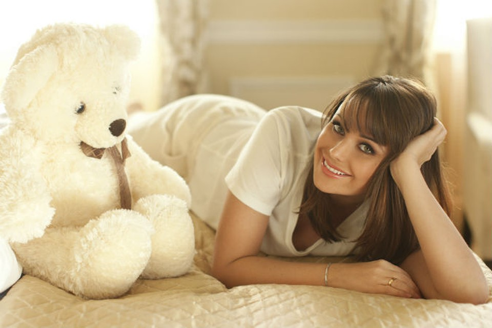 Красавица Оксана Федорова стала мамой после тридцати лет.