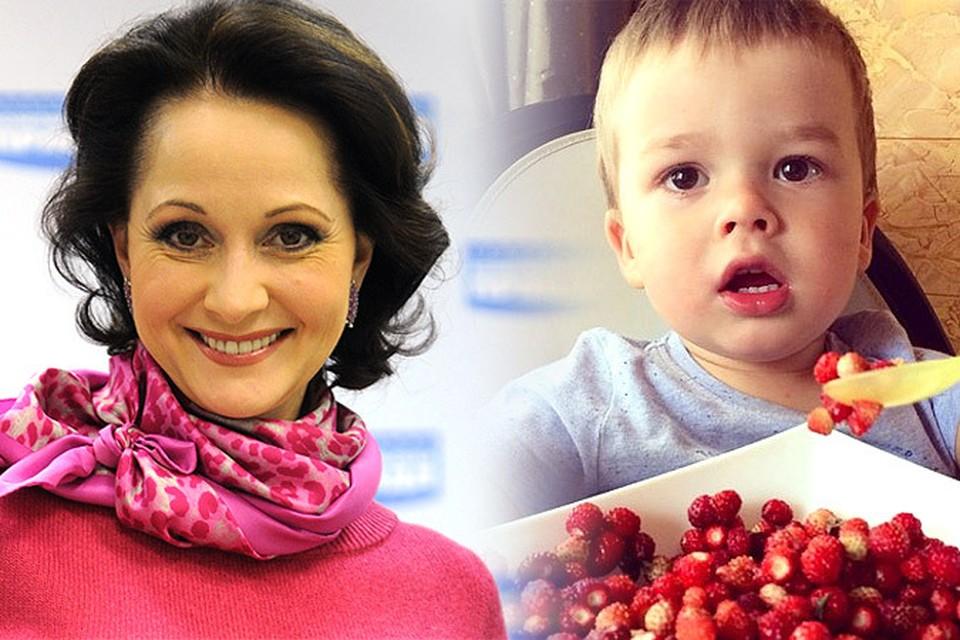 Ольга Кабо показала подросшего сына Виктора