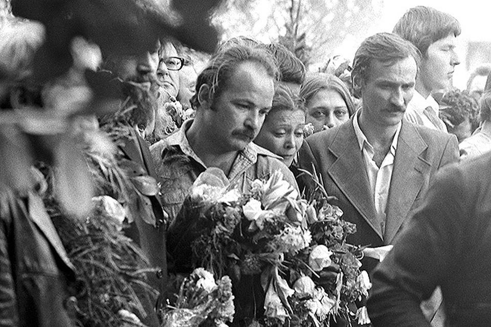 34 года назад прошли похороны Высоцкого