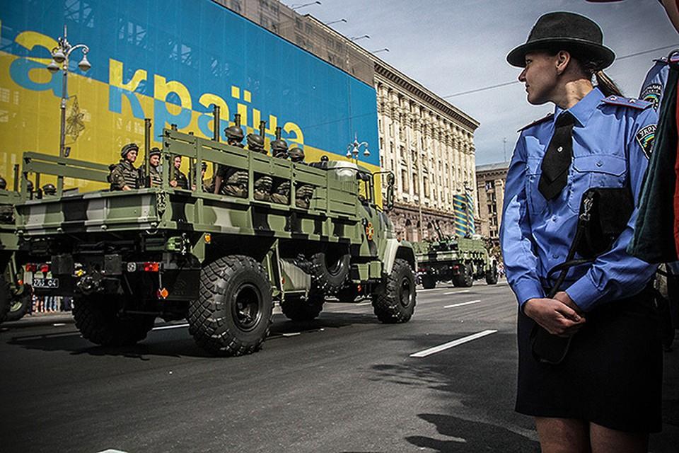 В Киеве прошел парад в честь Дня независимости Украины. ФОТО: Олег ТЕРЕЩЕНКО