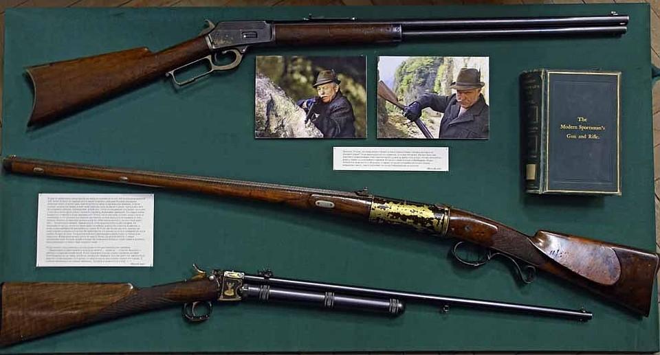 охотничьи ружья сша фото тот