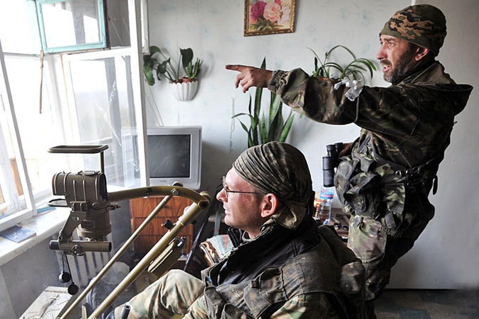 Ополченцы не раз жаловались на силовиков: обстреливать стали интенсивнее - но и сами спуску не давали.