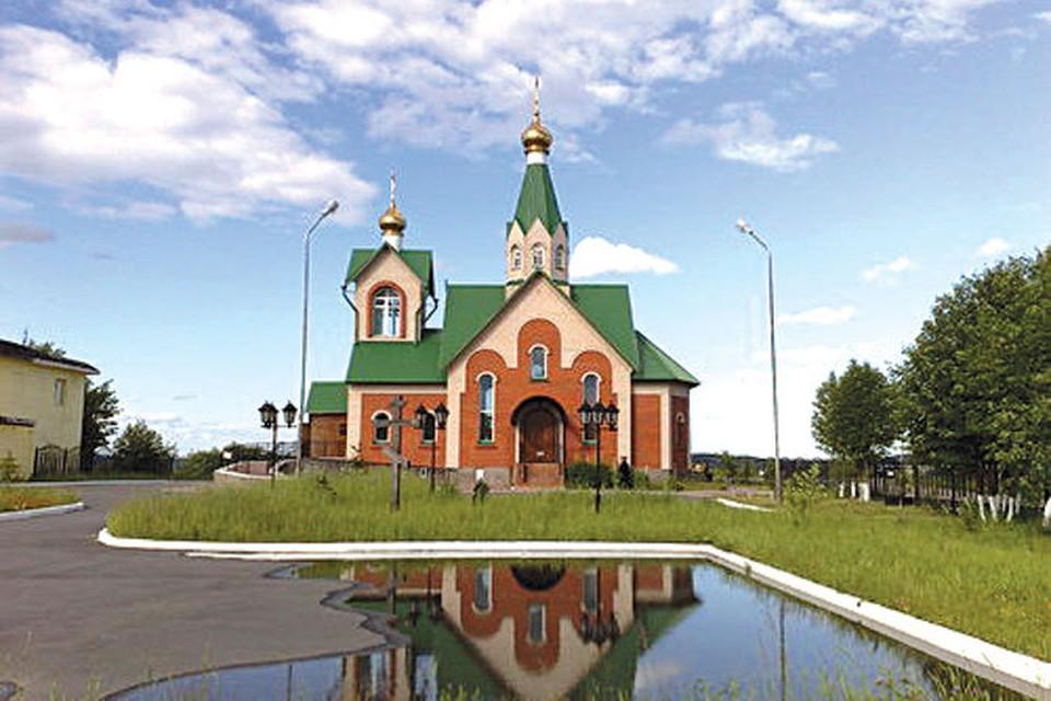 Нарядная церковь Веры, Надежды, Любови и матери их Софии - сейчас главный храм новой епархии. Фото из архива владыки Митрофана.