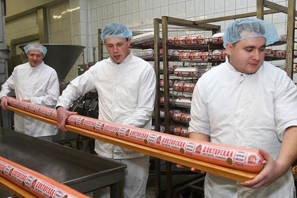 самая большая колбаса в мире картинки очевидная прическа утюжком