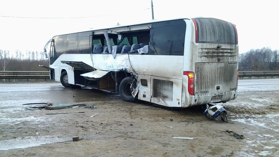 22 мая авария вольво столкнулась с автобусом