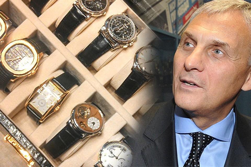 Коллекцию наручных часов губернатора Сахалина эксперт оценил в 10 миллионов долларов. ФОТО: СК РФ