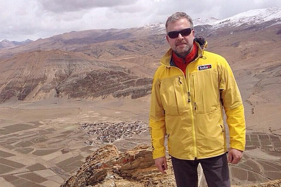 Три дня назад Валдис вместе со своей группой преодолел точку восхождения в 5850 метров
