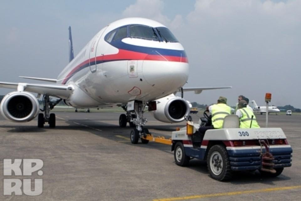 Superjet-100 потерял часть двигателя при взлете из «Шереметьево»