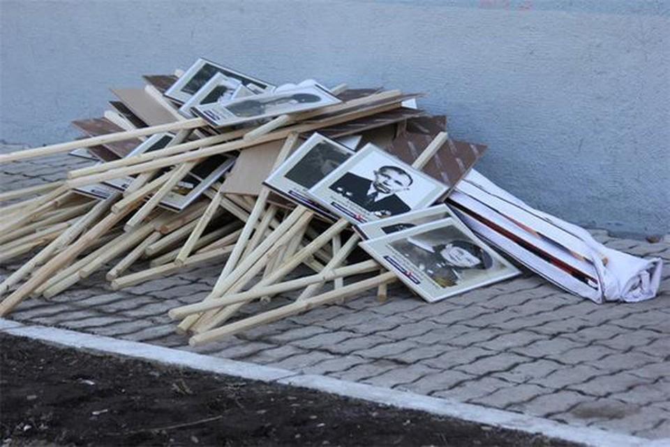 Активисты считают, что действия неизвестных, которые спланировали эту акцию попадают под статью