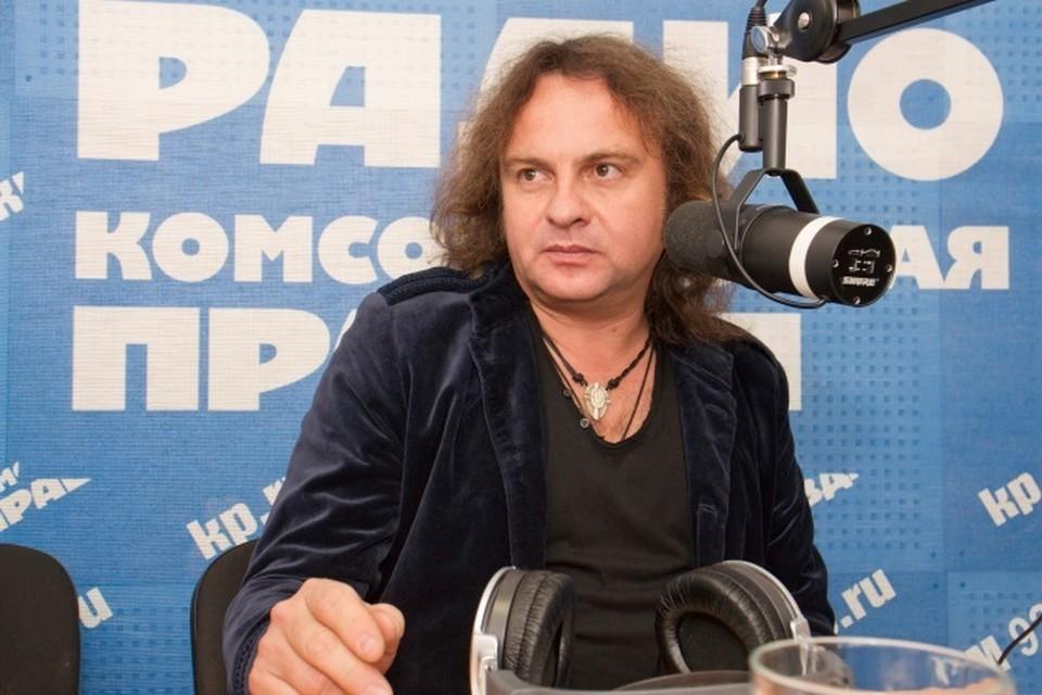 Российский рок-музыкант Виктор Зинчук