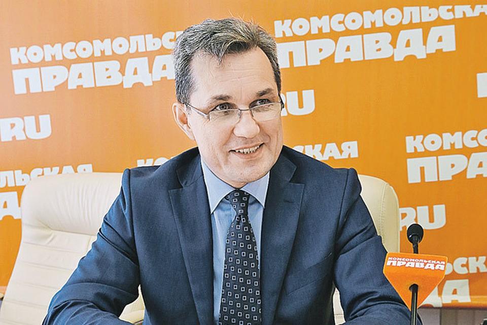 Руководитель департамента стратегического развития ФСС РФ Андрей Кошкин.