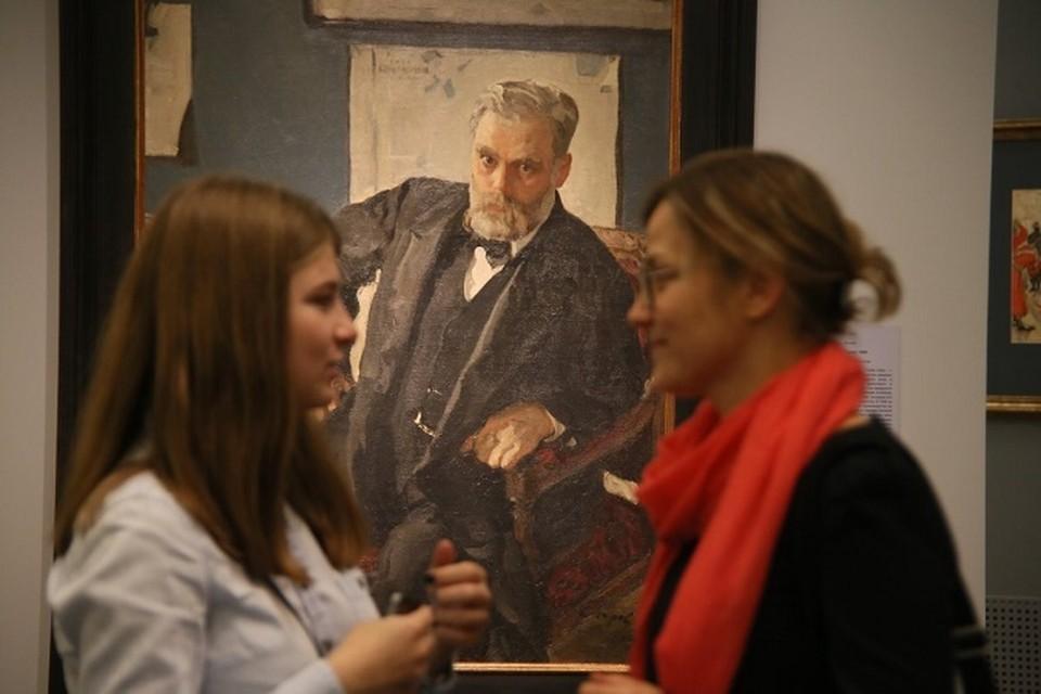 Выставка к 150-летию со дня рождения Валентина Серова продлится до середины января