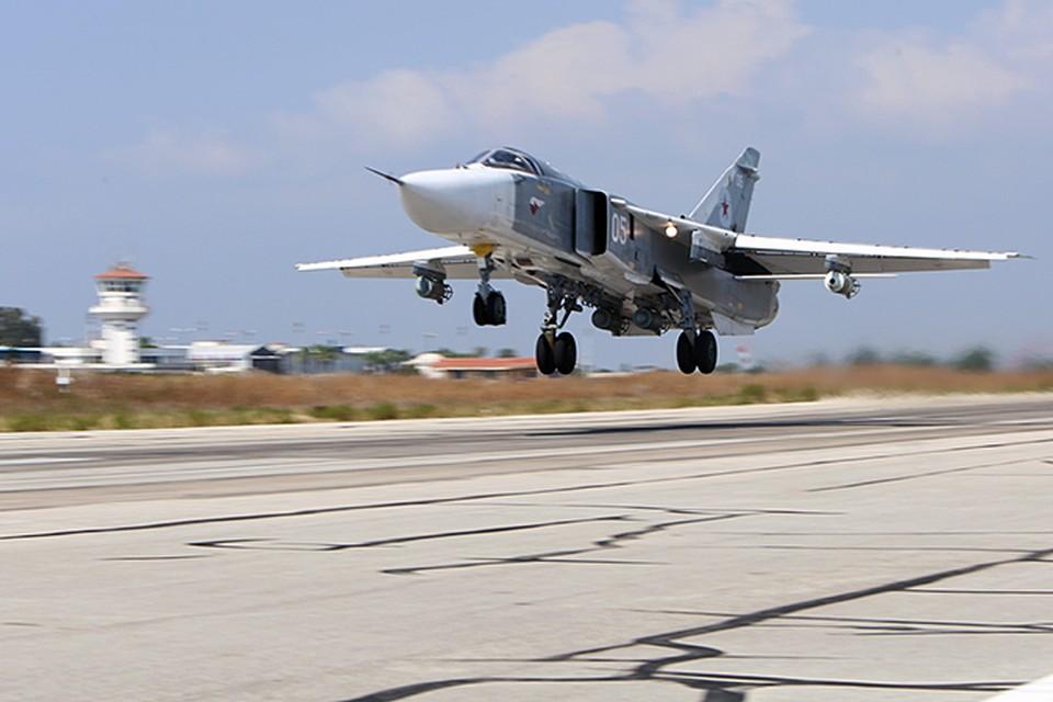 После выполнения боевых задач все российские самолеты благополучно вернулись на авиабазу «Хмеймим»