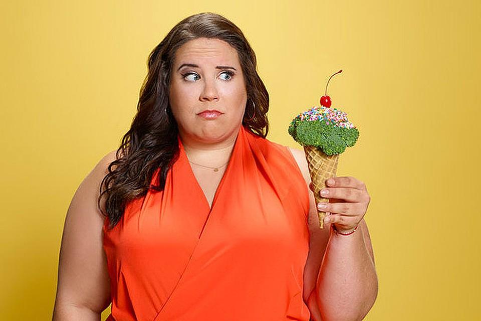 Полная женщина хочет похудеть