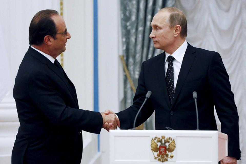 Президент Франции надеется убедить крупных игроков объединиться в борьбе с ИГИЛ