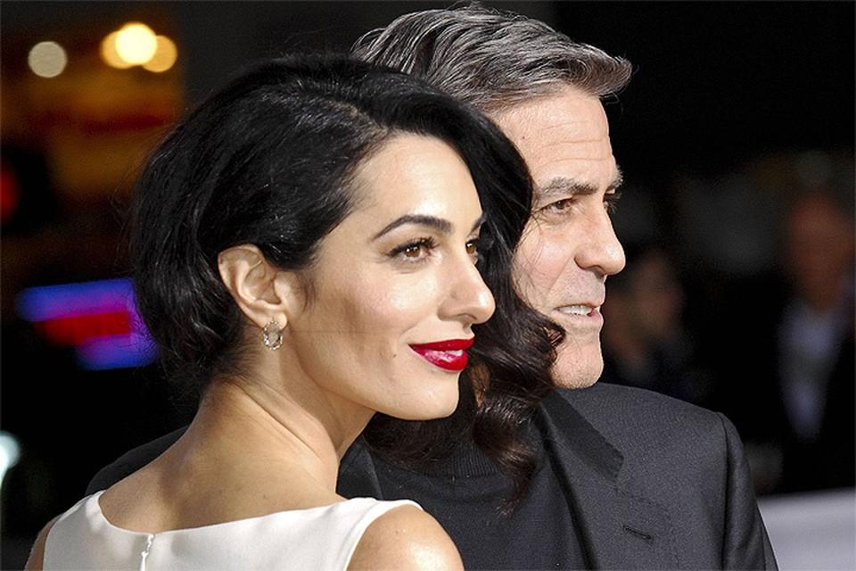 Джордж Клуни и Амаль Аламуддин.