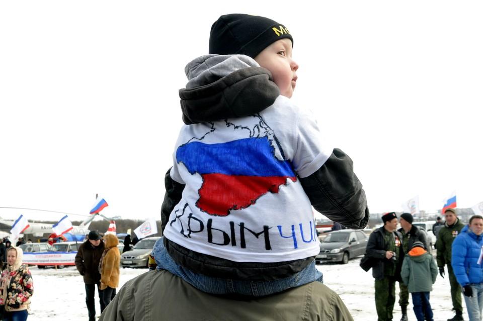 Крымчане не сожалеют, что оставили Украину и присоединились к России.