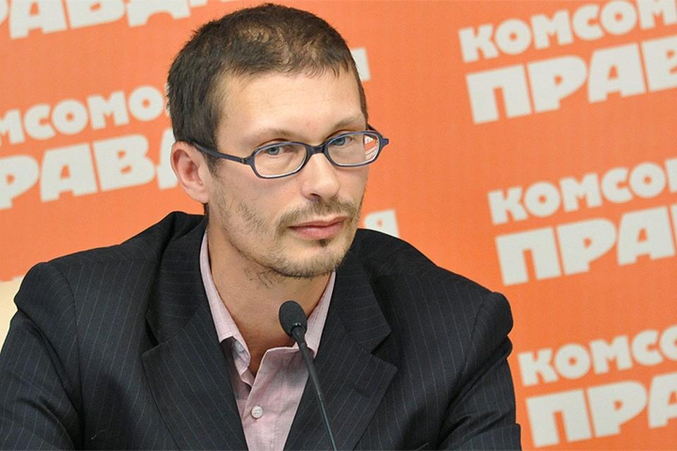 """Главный редактор Радио """"Комсомольская правда"""" Евгений Арсюхин"""