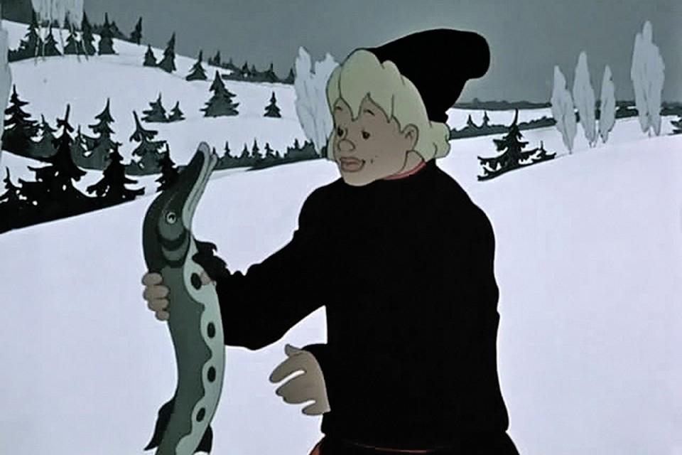 - Не хозяин ты мне, Емеля, а тунеядец! Фото: Кадр из мультфильма