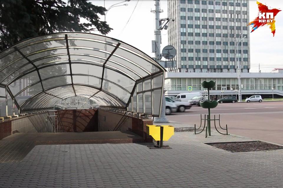 Подземные переходы на площади Ленина в Гомеле принесут одни проблемы, считают историки. Фото: из архива Романа Рощенко