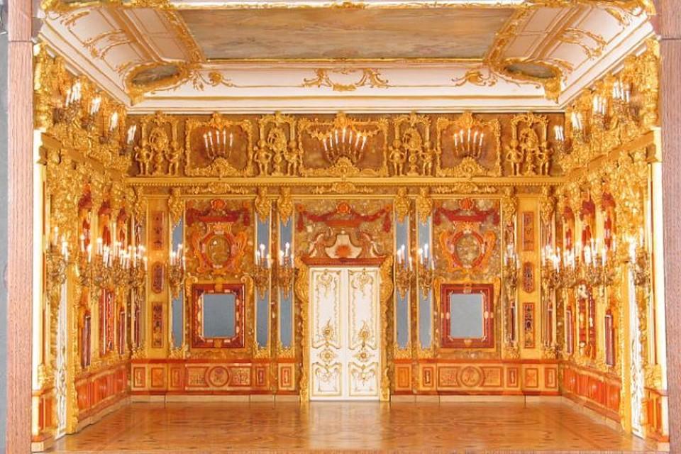 Янтарная комната считается символом музейных потерь во время войны
